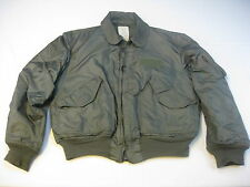 USAF US Air Force FR Summer Green Flight Flyers Jacket CWU-36/P X-LARGE XL 46-48