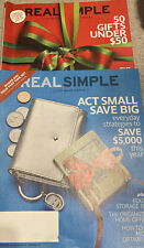 Real Simple Magazines December 2011 April 2012 Like New