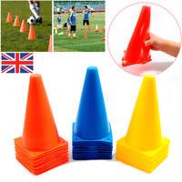 """9"""" Marker Training Cones Tall Sports Traffic Safety Soccer Football Signbucket"""