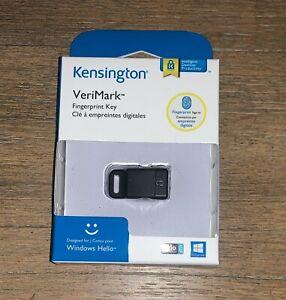 Kensington VeriMark USB Fingerprint Key Reader For PC Sealed NEW