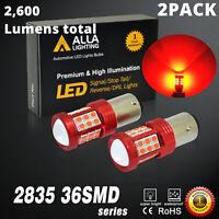 RED LED Brake/Tail/Turn Signal Light Bulb Lamp For 75-86 Chevrolet C10 Set of 2