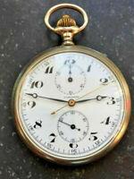 Longines high class pocket chronograph caliber 19.73 N