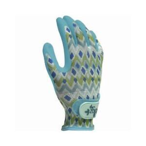 Grip Garden Gloves, Adjustable Wrist, Women's Medium