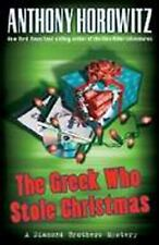 The Greek Who Stole Christmas (Diamond Brother Mysteries)-ExLibrary