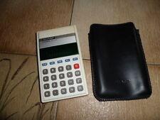 Taschenrechner Calculator Sharp EL 215 mit Huelle RAR Sammlerstueck