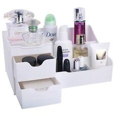 Mantello Makeup Vanity Organizer White w/ 9 Compartments