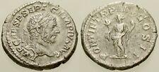 013. Roman Silver Coin. GETA. AR Denarius. Rome. Felicitas. VF