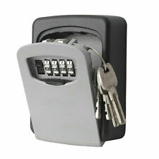 KEY SAFE OUTDOOR HIGH SECURITY WALL MOUNTED BOX SECURE LOCK **UK FAST POST**