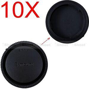 10x Rück Objektiv Deckel Rear Lens Cap fr Sony Micro SLR E FE SEL Mount Linse
