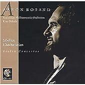 Sibelius, Khachaturian: Violin Concertos (2001)