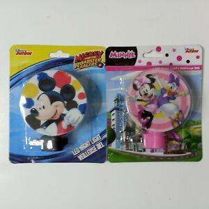 Disney Minnie & Daisy & Mickey Night Lights LED Rotary Shade Not a Toy