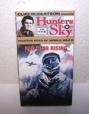 Hunters in the Sky VHS Tape RED STAR RISING Vol 7 World War ll Movie VCR USA NEW