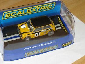 Scalextric Mini Cooper gelb