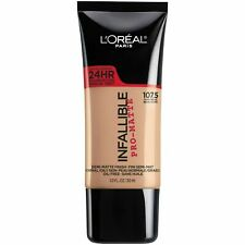 L'OREAL INFALLIBLE PRO-MATTE 24HR FOUNDATION NEW & SEALED 107.5 IVORY BEIGE