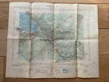 Ancienne carte d'état major de l'armée: La Teste -Bassin d'Arcachon - 1931