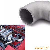 Car 2.5'' Performance 90 Degree Tight Radius Cast Aluminum Turbo Elbow Pipe 63mm