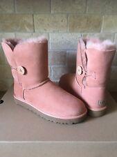 UGG Classic Short Bailey Button II Water-resistant Suntan Boots Size 10 Womens