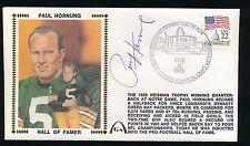 1986 Gateway Cachet -PAUL HORNUNG (Green Bay Packers) *Tough Item*