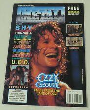 Metal Force Magazine - Number 49, April 1990, Ozzy Osbourne, Frampton, others