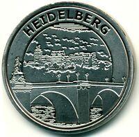 Memodaille ●●● Heidelberg (1) - Alte Brücke und Schloß ●●● Souvenir Münze