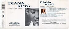DIANA KING CD single  4 tracce 1997 I SAY A LITTLE PRAYER + 3 Burt Bacharach