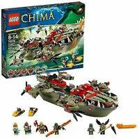 LEGO Legends of Chima Cragger's Command Ship (70006) Brand New & Sealed