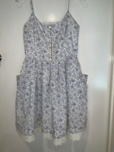 Forever New Cotton Dress Size 12.              #5