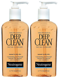 Neutrogena Deep Clean Daily Facial Cleanser with Beta Hydroxy Acid for Normal to