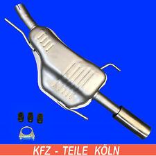 Opel Astra G Coupe/Cabriolet 2.2 Dti Diesel Silenciador con Kit de Montaje