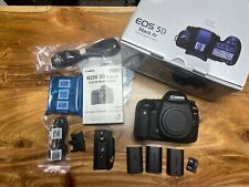 Canon EOS 5D Mark IV Body  2,893 shutter count 256GB, 3 Batteries RRS Plate