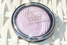 makeup revolution vivid baked highlighter shimmer powder, pink lights