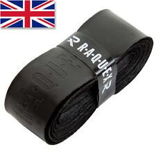 Raquex Black Replacement Racquet Grip Handle - Anti Slip Tennis Squash Badminton