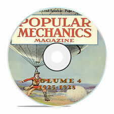 Classic Popular Mechanics Magazine, Volume 4 DVD, 1925-1928, 46 issues, V14