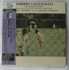 ROBERTO CACCIAPAGLIA - SEI NOTE IN LOGICA JAPAN SHM MINI LP CD NEU! UICY-94506