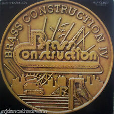 """BRASS CONSTRUCTION ~ Help Yourself / Pick Yourself Up ~ 12"""" Single PS"""