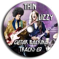 THIN LIZZY STYLE ROCK GUITAR BACKING TRACKS AUDIO CD ANTHOLOGY JAM TRAXS