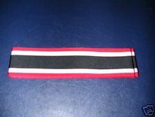GERMAN - War Merit Cross  Ribbon.  Inc. UK p&p.