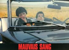 DENIS LAVANT JULIETTE BINOCHE MAUVAIS SANG 1986 PHOTO ANCIENNE EXPLOITATION N°10