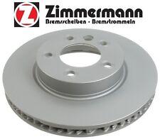 NEW Volkswagen Touareg 04-15 Front Driver Left Disc Brake Rotor Zimmermann