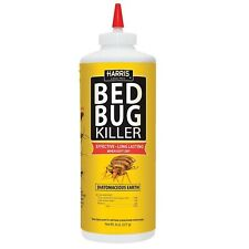 Hde-8 Bed Bug Powder Diatomaceous Earth, 8Oz Yellow