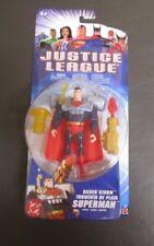Silver Storm Superman 2004 JUSTICE LEAGUE Mattel MOC