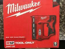 "Milwaukee 2447-20 M12™ 3/8"" Crown Stapler"