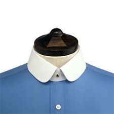 Double Rounded Starched Stiff Detachable Shirt Collar for your collarband shirt