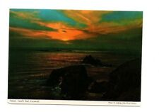 Cornwall - Land's End, Sunset - Picture Postcard