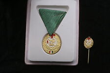 Hungary Hungarian For 30 Blood Donations Class Bronze 3 Box pin Red Cross Medal