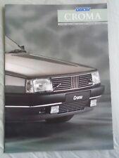FIAT CROMA BROCHURE GAMMA 1989 GIU