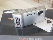 SAMSUNG L SERIE L83T 8.2mp fotocamera digitale - Argento - APERTO