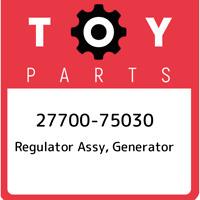 27700-75030 Toyota Regulator assy, generator 2770075030, New Genuine OEM Part