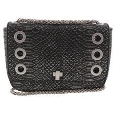 Inc International Concepts Korra Gray Embossed O-ring Crossbody Handbag Purse