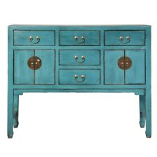 MOBILE BUFFET CINESE ETNICO VINTAGE INDUSTRIAL AZZURRO SHABBY CHIC Mobili Outlet